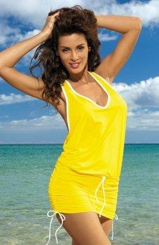 Marko Elsa M-313 tunika plażowa żółta