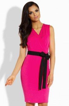Lemoniade L200 sukienka różowa