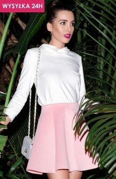 *Katrus K268 spódnica różowy