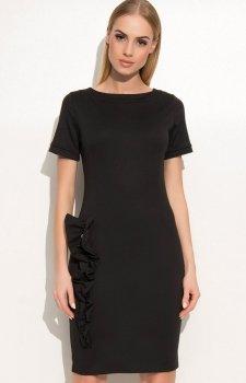 Makadamia M350 sukienka czarna