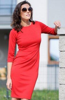 Lapasi  L035 sukienka czerwona