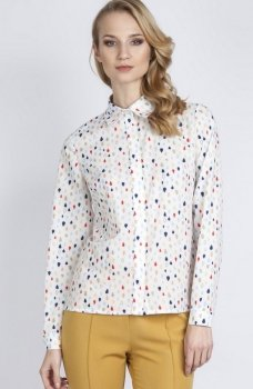 Lanti K101 koszula kropki