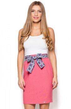 Katrus K429 spódnica różowa