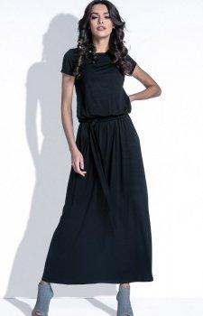 Fobya F396 sukienka czarna