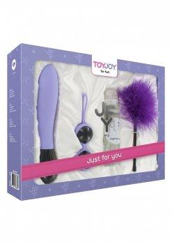 Toy Joy lawendowy zestaw erotyczny