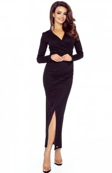 Bergamo 75-04 sukienka czarna