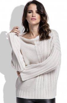 *FIMFI  I212 sweter beżowy