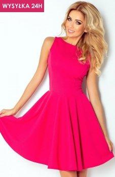 *SAF 125-3 sukienka malinowa