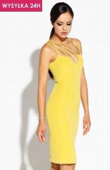 *Dusi Royale sukienka żółta