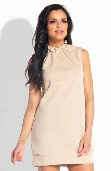 Lemoniade L192 sukienka beżowa