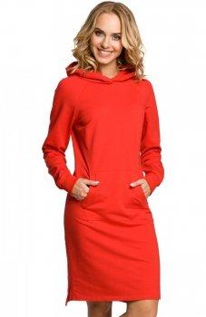 Moe M329 sukienka czerwona