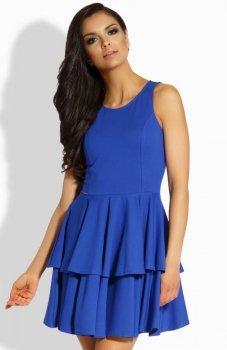 Lemoniade L199 sukienka chabrowa