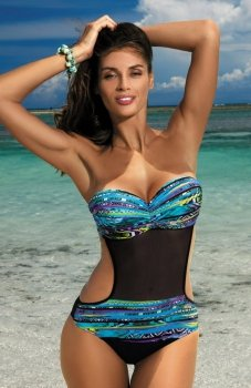 Marko Melania Caraibi-Nero M-426 kostium kąpielowy