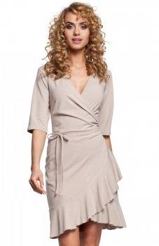 Moe M294 sukienka beżowa
