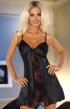 Beauty Night Alexandra chemise black komplet