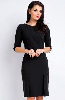 Awama A158 sukienka czarna