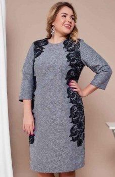 Cover TR1671 sukienka szara