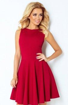 *SAF 125-1 sukienka bordowa