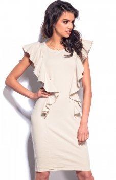 Lemoniade L178 sukienka beżowa