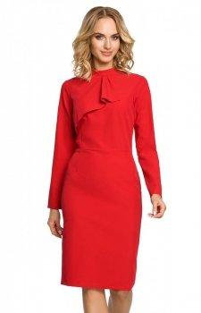 Moe M325 sukienka czerwona