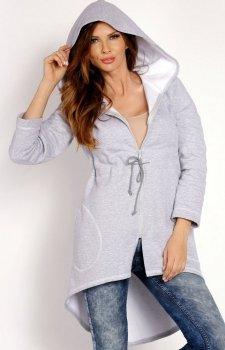 LOU LOU L011 bluza szara