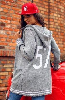 Envy Me EM606 sweter szary