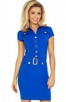 *SAF 142-3 sukienka chabrowa