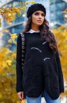 Envy Me EM605 sweter czarny