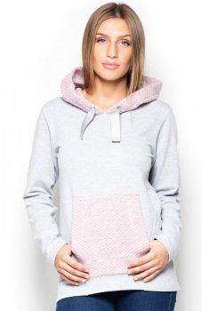 Katrus K414 bluza różowa
