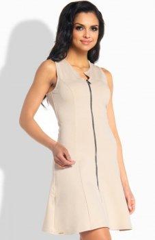 Lemoniade L183 sukienka beżowa