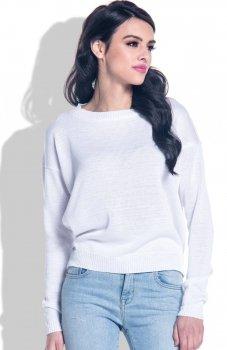 Fobya F361 sweter biały