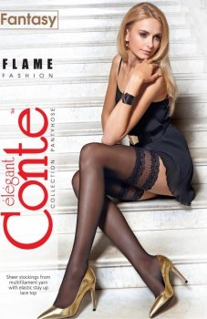 Conte Fantasy Flame pończochy