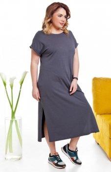 Cover TR2014 sukienka szara