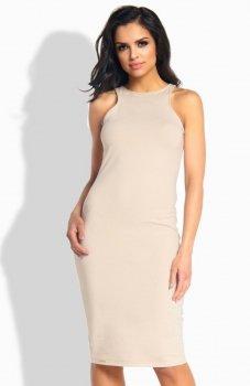 *Lemoniade L185 sukienka beżowa