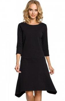 Moe M328 sukienka czarna