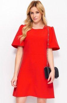 Makadamia M378 sukienka czerwona