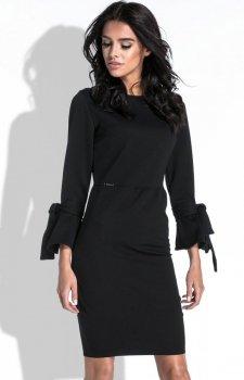 Fobya F446 sukienka czarna