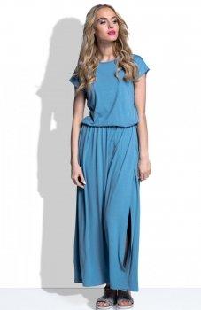 FIMFI I185 sukienka jeans