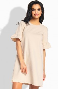 Lemoniade L188 sukienka beżowa