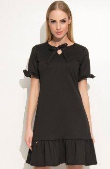 Makadamia M340 sukienka czarna