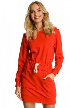 Moe M352 sukienka czerwona