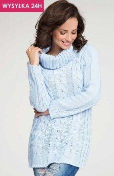 *Numinou S07 sweter błękitny