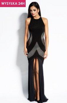 *Dursi Michelle sukienka srebrna