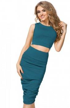 Tessita T178 spódnica zielona