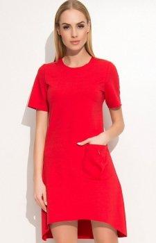Makadamia M360 sukienka czerwona