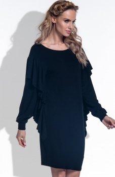 FIMFI I173 sukienka czarna
