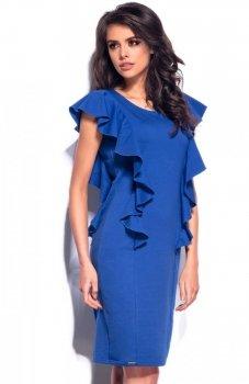 *Lemoniade L178 sukienka chabrowa