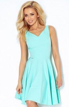 *SAF 114-1 sukienka miętowa