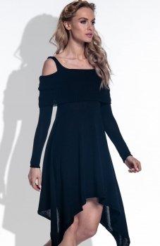 FIMFI I172 sukienka czarna