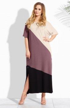 Envy Me EM110 sukienka beż-cappucino